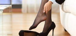 Las medias de compresión, una ayuda para mejorar la circulación de las piernas.