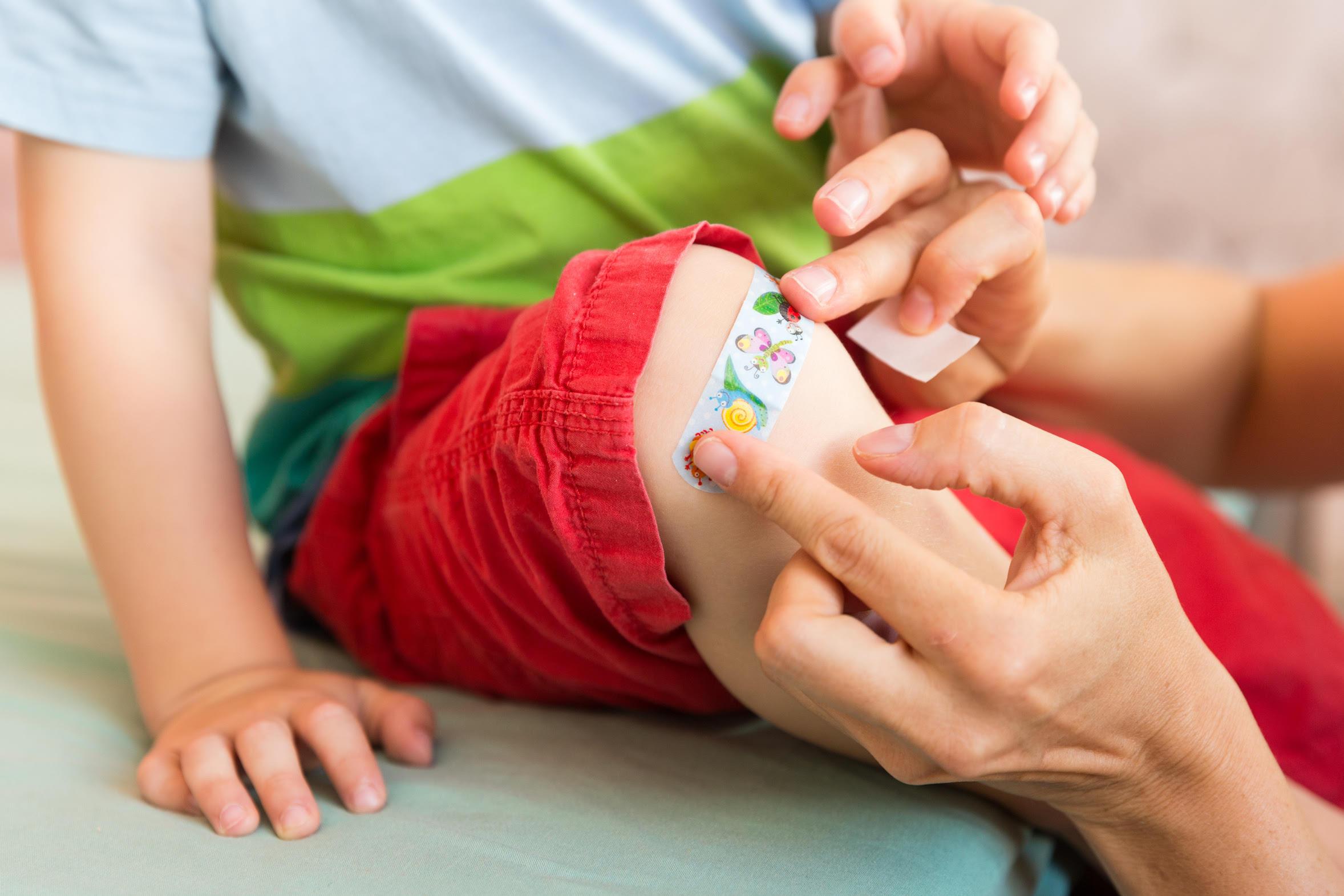 Desinfectar una herida