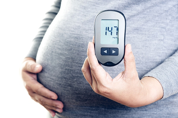 bajar de peso en el embarazo diabetes gestacional