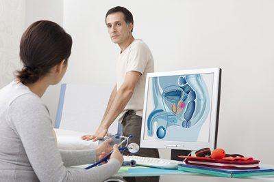 Síntomas del cáncer de próstata.