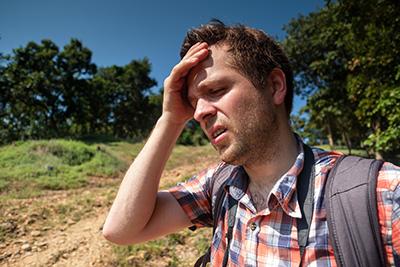La deshidratación se produce cuando el cuerpo pierde más agua de la que ingiere.